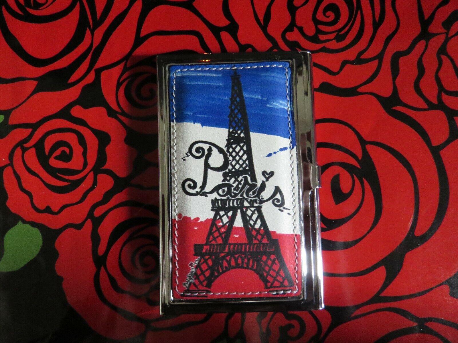 Brighton PARIS Business Card Case NWT E6165M RT