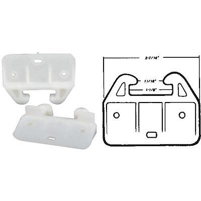 6-U S Hardware Mobile Motor Home RV Plastic Cabinet Drawer Slide 2//Pk WP-8813C