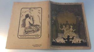 Programma Theatre National Di L'Opera Fumetto Stagione 1929-30 La Tosca Be