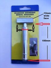 Grinding Wheel Dresser Diamond 36grit 45mm x 12mm wide easy & efficient to use