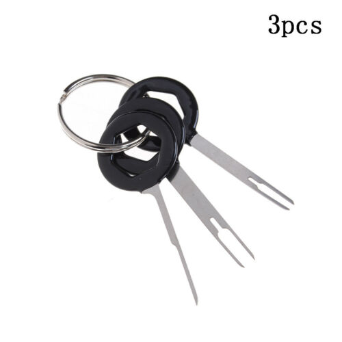 3//8//11X Car Terminal Removal Tool Kit Wiring Connector Pin Release Extractor JH