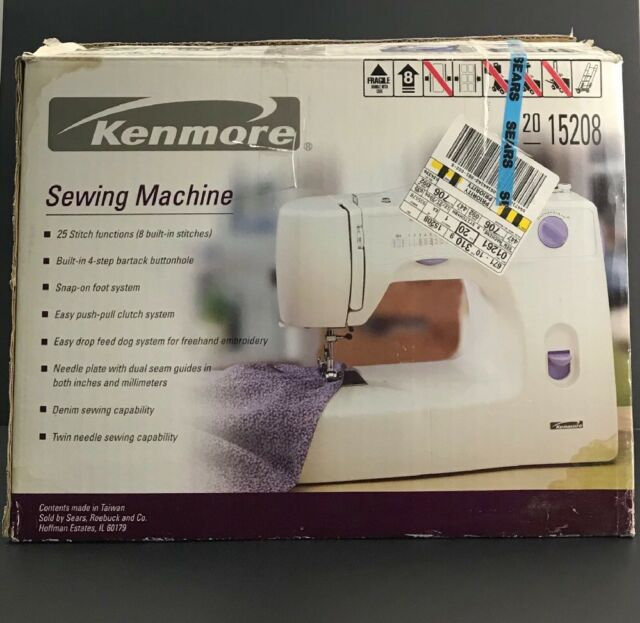 Kenmore 40 Mechanical Sewing Machine EBay Cool Kenmore Sewing Machine Owner's Manual