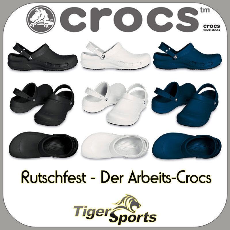 Crocs-Bistro-zapatos de trabajo-sandalias Clogs-nuevo-tamaños  36 - 48