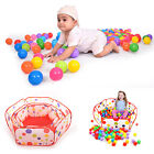 Outdoor Indoor Ocean Ball Pit Pool Kid Game Play Children Toy Tent 3 Sizes CWB