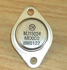4 pc MJ15023 Power Linear Pro Audio Transistor 200V 16A 250W MJ15023G  8B