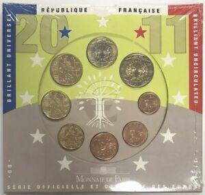 France - Coffret BRILLANT UNIVERSEL 2011 - Série officielle (Sans blister !)