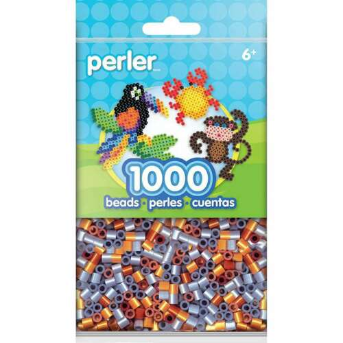 Perler Beads 1,000//Pkg Metallic Mix 048533151851