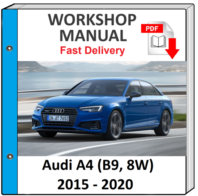 Software 2005 Audi A4 A 4 Owners Manual Tools & Equipment