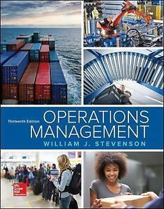 Operations management by stevenson 2017 hardcover ebay stock photo fandeluxe Choice Image