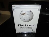The Game About Wikipedia The Online Encyclopedia Brand Factory Sealed