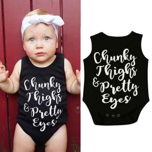 Newborn Infant Baby Girl Boy Body Casual ange Combinaison Tenues Vêtements JGJ