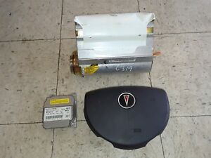 Details about 05-06 PONTIAC GTO DRIVER PENGER AIR BAG AIRBAG SET WITH on