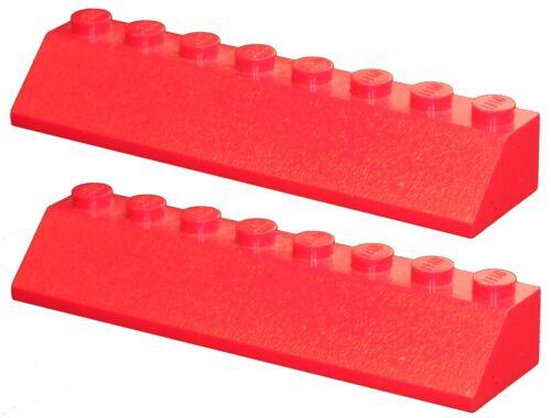 Missing Lego Brick 4445 Red x 2 Slope Brick 45 2 x 8