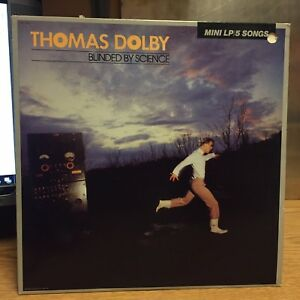 Thomas-Dolby-Blinded-By-Science-Mini-LP-Harvest-83-EX-Hit-One-of-Our-Submarines