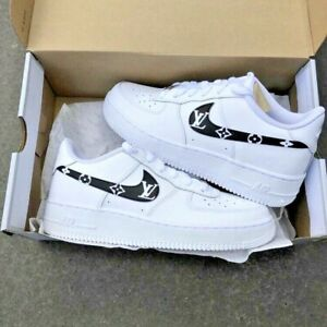 Tradicion Dime evaluar  Black Luxury @CoolOutSessions Custom Nike Air Force 1: ANY COLOR AVAILABLE  | eBay