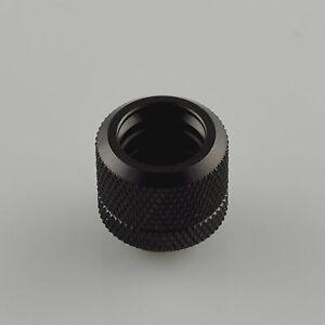 Olike 2017 16MM G1//4 coupling fitting OD 16MM Rigid tubing water cooling Black