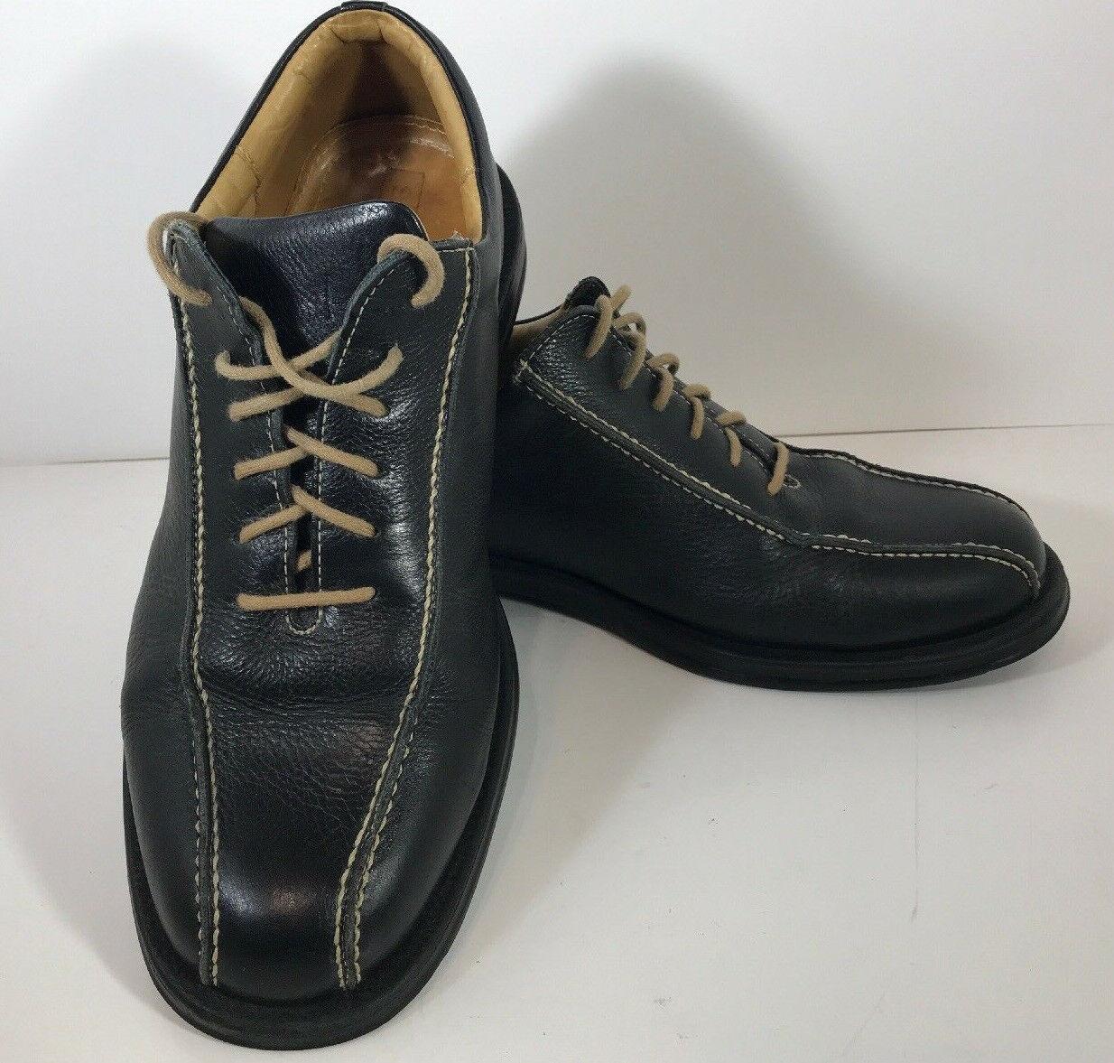 Sandro Oxford Spilt Toe ComfortWalk Men5 Black Lace Up shoes 9.5 D