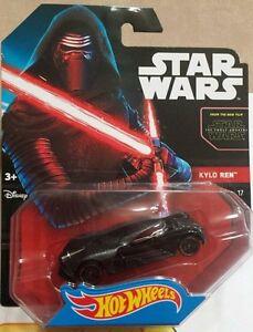 Star Wars Hot Wheels Kylo Ren CGW50  NEW  NEU OVP