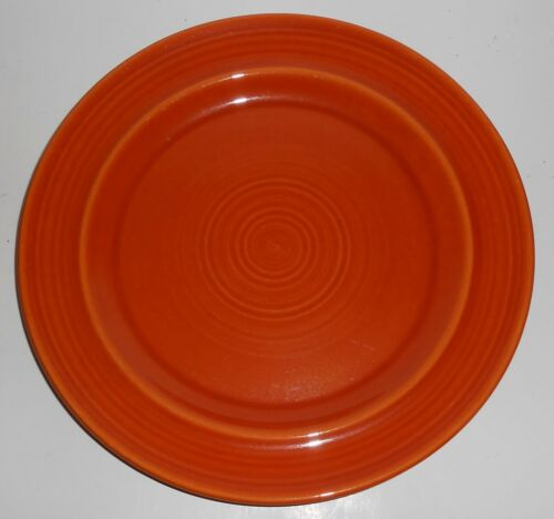 Metlox Pottery Poppy Trail Colorstax Terra Cotta Orange Dinner Plate
