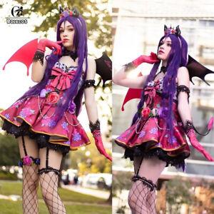 Love Live Cosplay Costume Nico Nozomi Maki Rin Minami Kotori Little Demon Dress