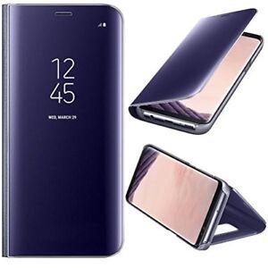 Flip Coque Housse Etui Clear View Transparent pour Samsung Galaxy S8 / Note 8