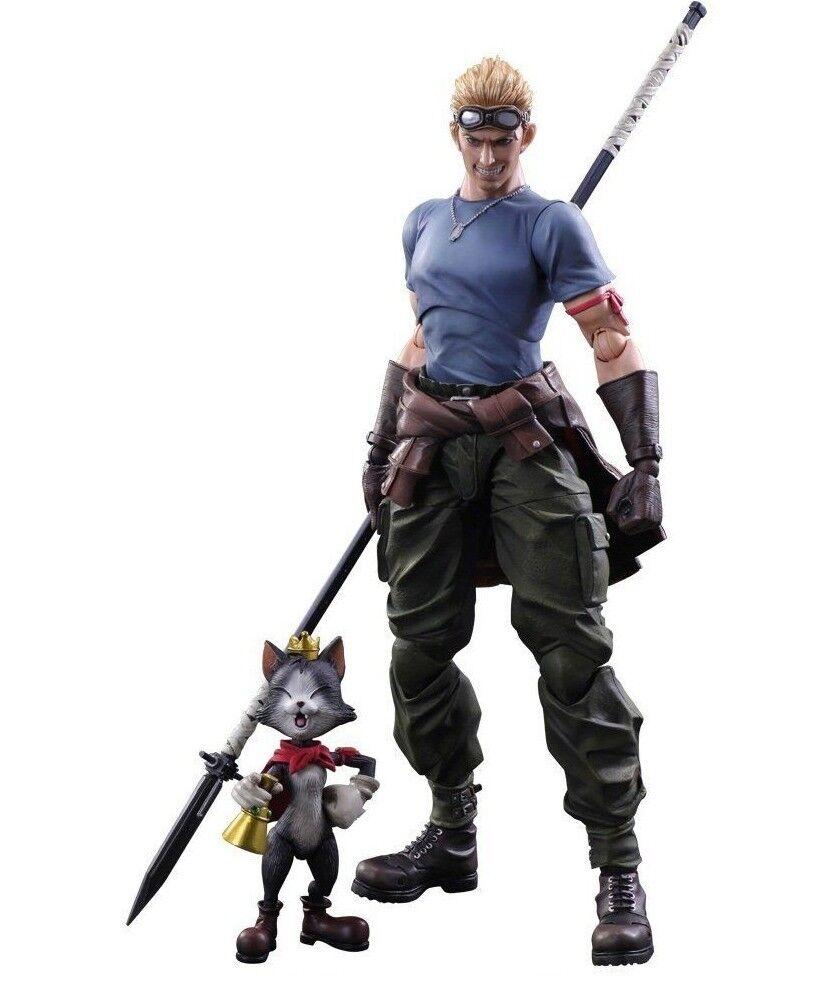 Original Jugar Arts Final Fantasy VII Cid Highwind Cait Sith Figura de Acción Sin Caja