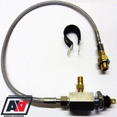 Ford 1/8 NPT Remote Oil Pressure Adaptor Gauge Switch Sensor Fitting Kit ADV