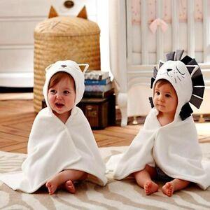 Cotton Towel For Kids Stuff Baby Bath Towel Babies Hooded Poncho Infant Blanket