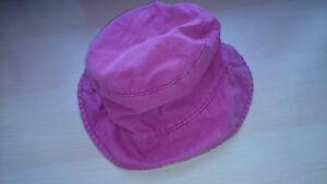 Chapeau-bonnet-casquette-fille-rose-enfant-taille-54-cm-6-ans-8-ans-TBE