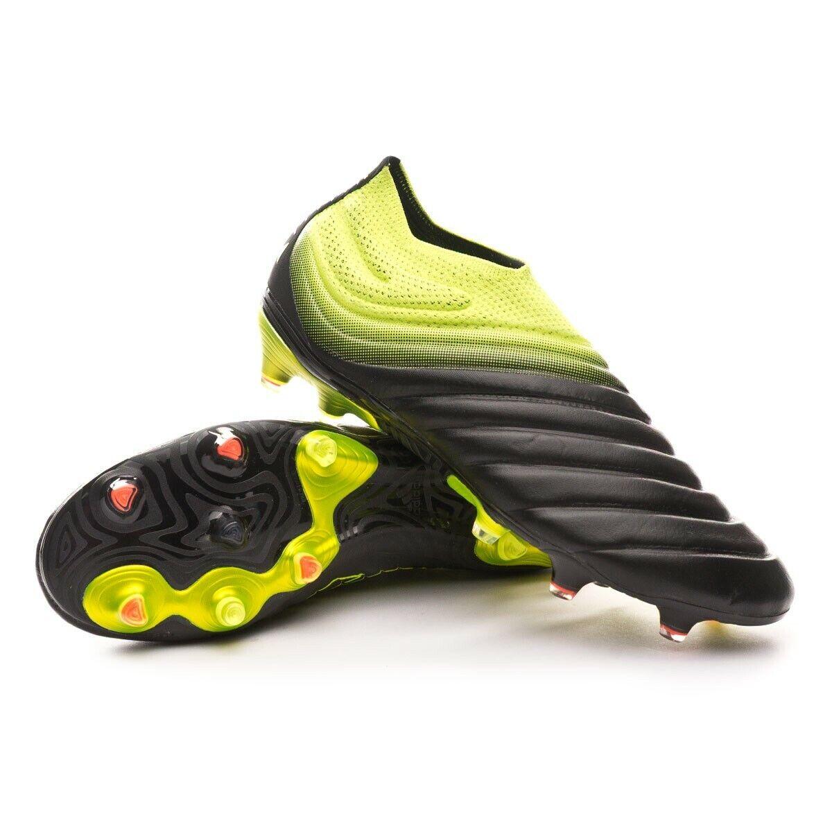 Adidas Copa 19+ Fg Football Crampons schwarz Fluo US 8.5 UK 8
