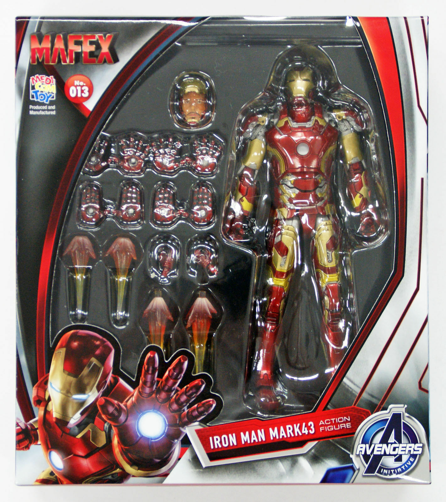 Medicom MAFEX 013 IRON uomo MARK 43 Marvel Avengers Avengers Avengers Age of Ultron 4530956470139 837766