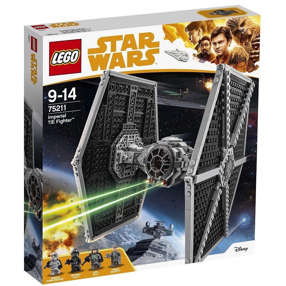 Lego Star Wars 75211 Imperial TIE Fighter NEU OVP