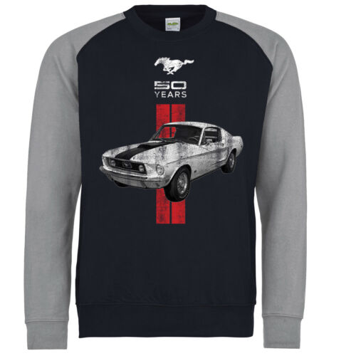 Licensed Genuine Ford Mustang Pony GT Shelby Sweatshirt American Classic Car