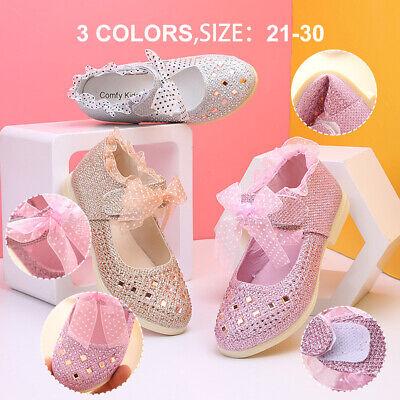 EASIER 2Q Kid/'s Toddler Bow Slip On Mary Jane Dress Shoes