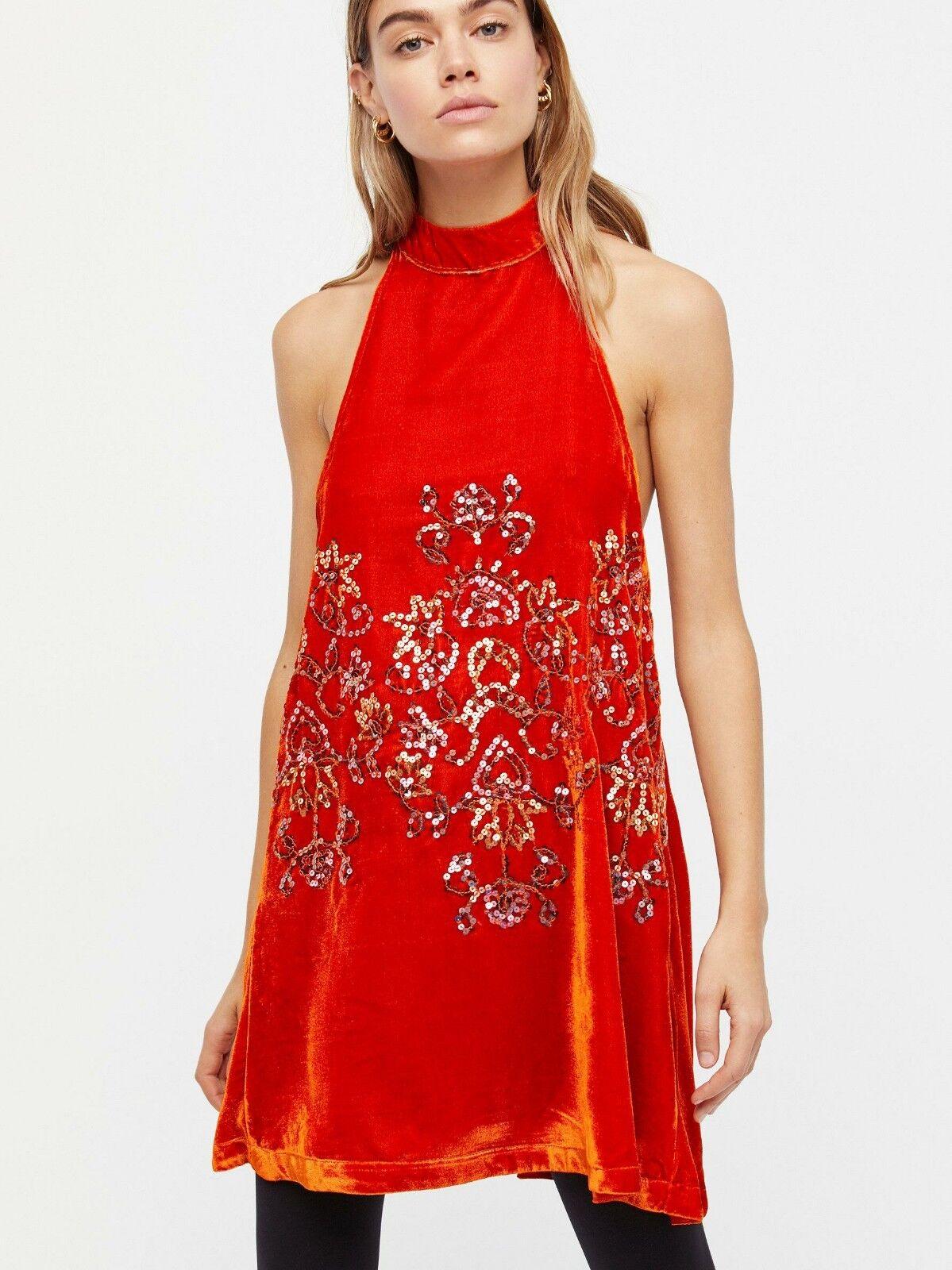 NWT FREE PEOPLE Jill Swing Dress Dress Dress Size M 7e1ee0
