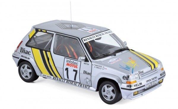 NOREV RENAULT Supercinq GT Turbo-Tour de Corse 1989-RAGNOTTI thimonie 1 18