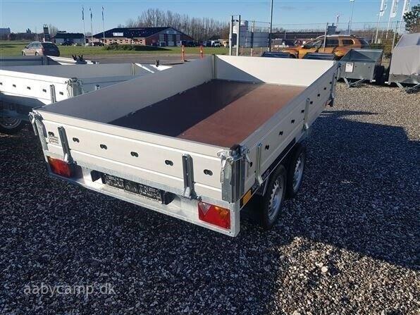 Trailer Transporter 250/2 Alu 750 kg Tipper, lastevne