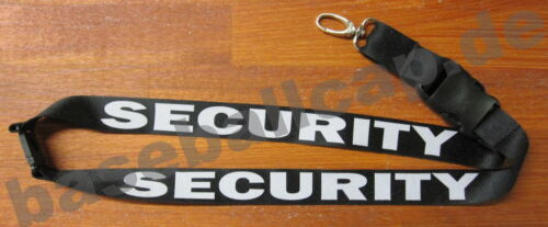Clave Lanyard banda Security