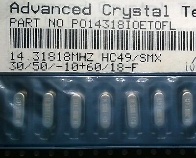 ACT HC49//SMX 8.192 MHz CRYSTALS