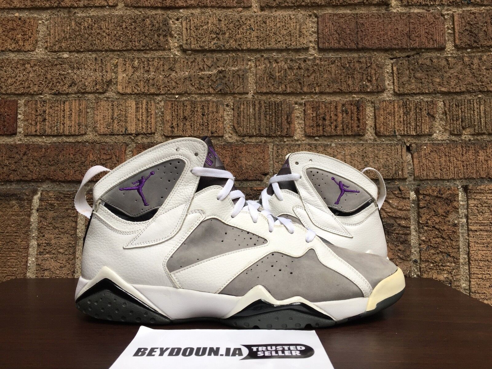 Nike Air Jordan VII 7 Retro Flint Grey Mens Size 13 304775-151