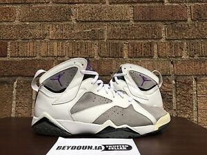 b4180f20b6a Nike Air Jordan VII 7 Retro Flint Grey Mens Size 13 304775-151 | eBay