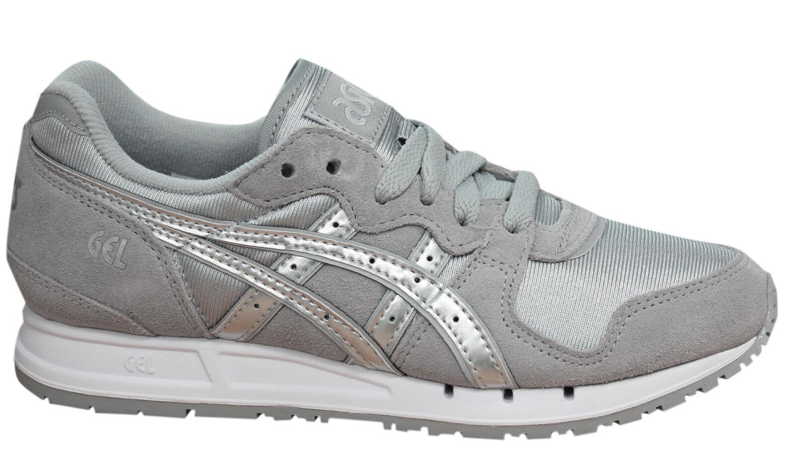 ASICS gel-movimentum con lacci grigio argentooo tessuto da Donna Scarpe ginnastica