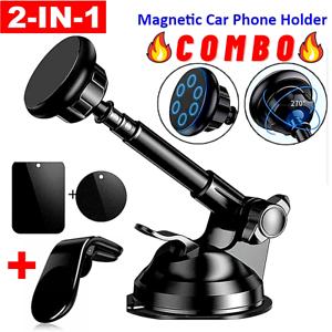 Soporte Sostenedor-Estante Magnetico De Celular Para Carro Telefono Auto Coche