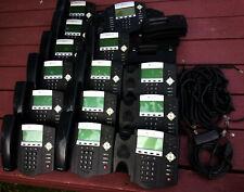 Lot Of 13 Polycom Soundpoint Ip450 Digital Phone 2201 12450 001 1 Ip550