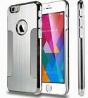 Luxury Metalic Back Case Cover Protector For iPhone 6 Plus/ Silver colour