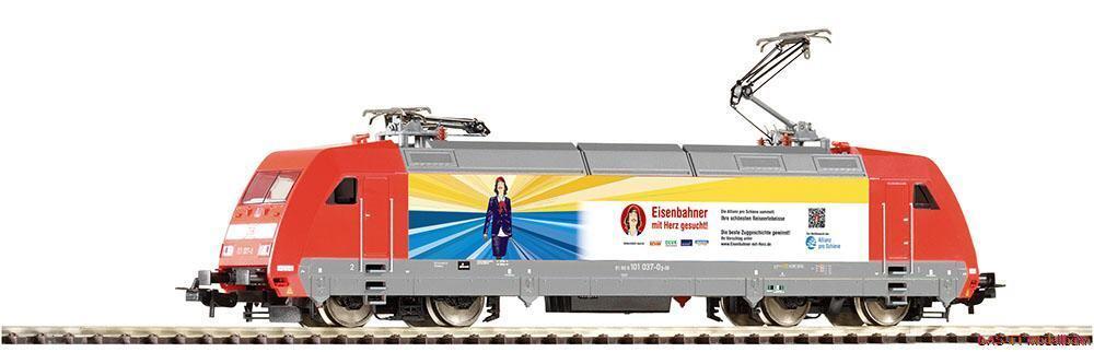 H0 E -Lok BR101 Eisenbahner DB AG Ep.VI Piko 59454 Neu Herregud