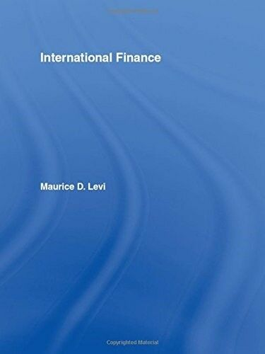 Good, International Finance: Contemporary Issues, Levi, Maurice D., Book