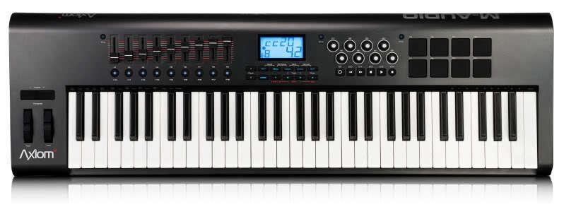 NEW MAudio Axiom 61 2.0 USB Midi Keyboard Controller