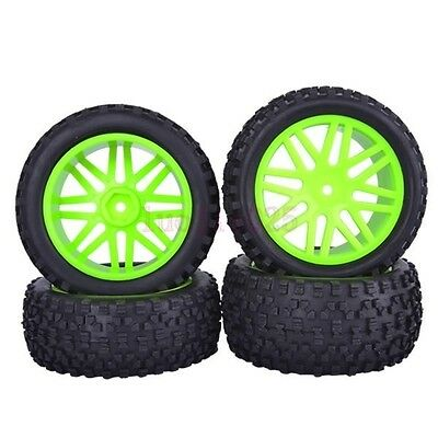 RC 4pcs Front/&Rear Tires Insert Sponge Wheel HSP 1:10 Off-Road Buggy 66012-66032