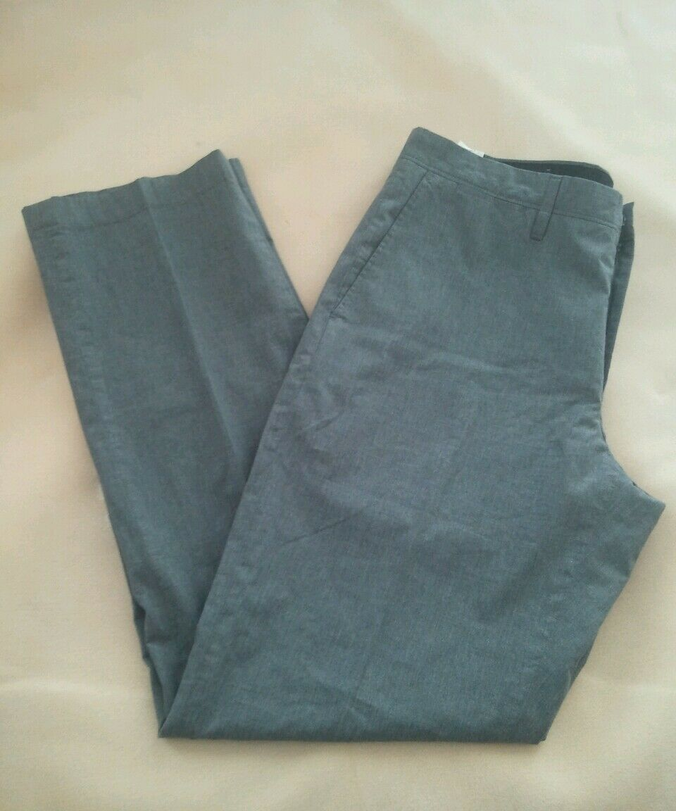 J Crew Factory Bedford Mens pants in heathered cotton Grey 32x32 trouser